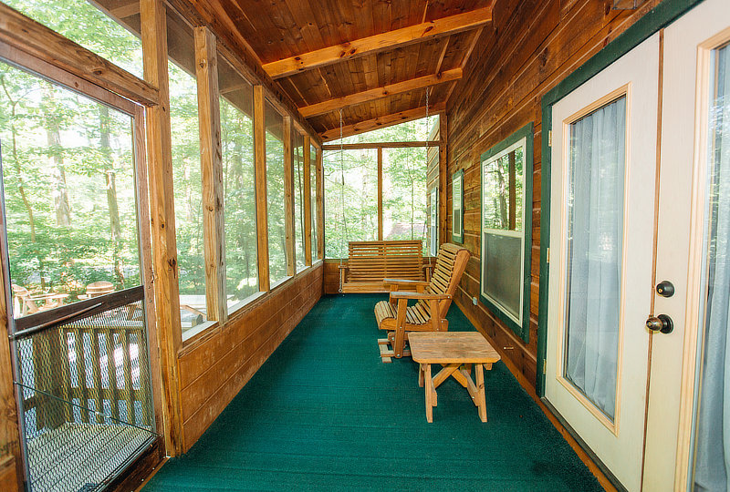 White Tail Ridge Luxury Log Cabin Interior